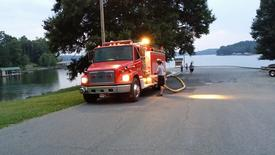 Relay pumping with Tanker 1