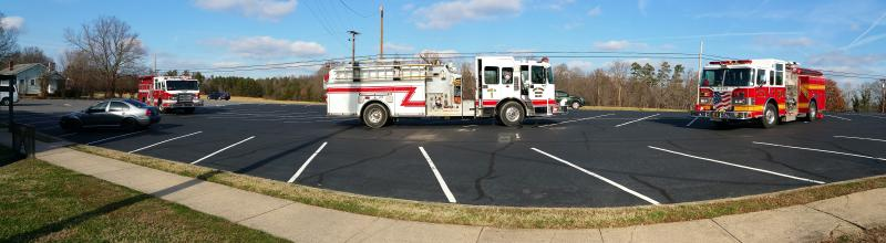 Engine 1's from Shepherds, Mount Mourne & South Iredell